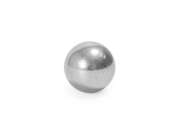 Solid seamless shiny sphere