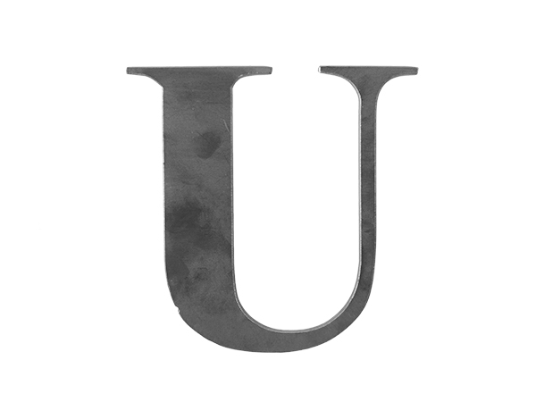 Steel Letter U