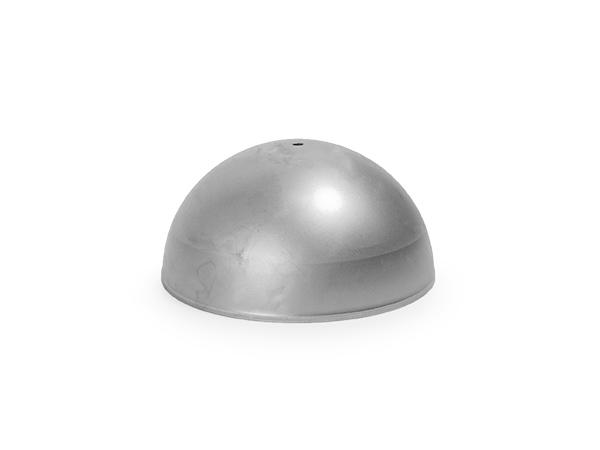 Steel hemisphere 4 inch