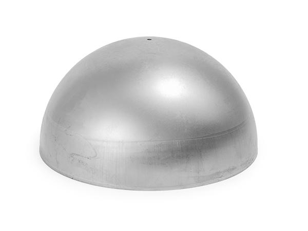 Steel hemisphere 8 inch