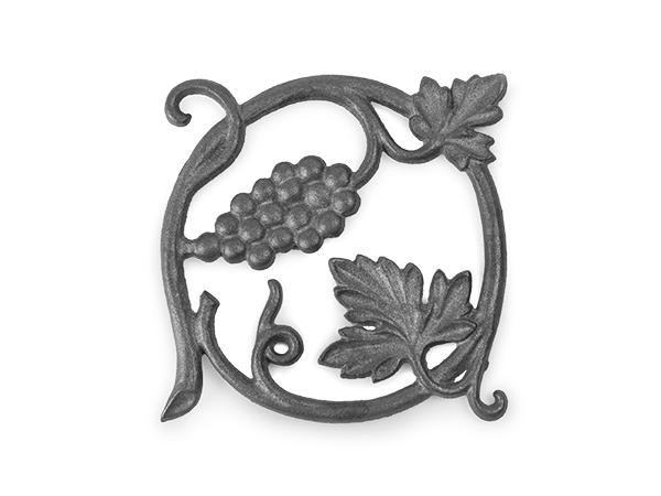 Vineyard rosette casting