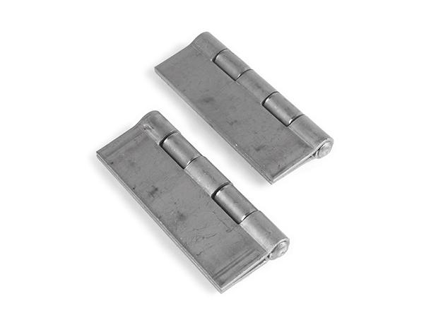 Weld hinge, 2.25x3.5-inch pair