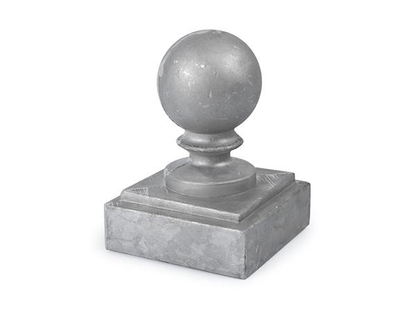 Aluminum 3-inch ball cap