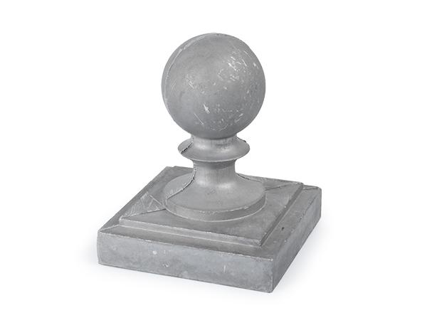 Aluminum 4-inch ball cap
