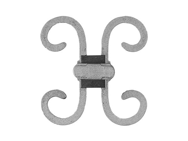 Aluminum picket casting 4 inch