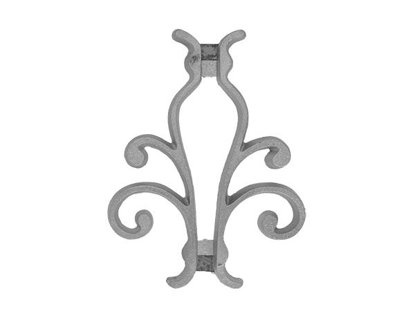 Aluminum picket casting 8.5 inch