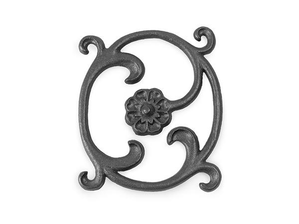 Bellflower rosette casting