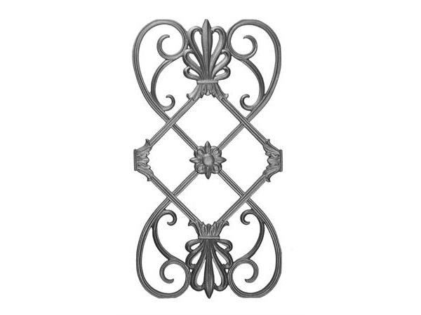 Cast iron, 26.5x14, railing casting