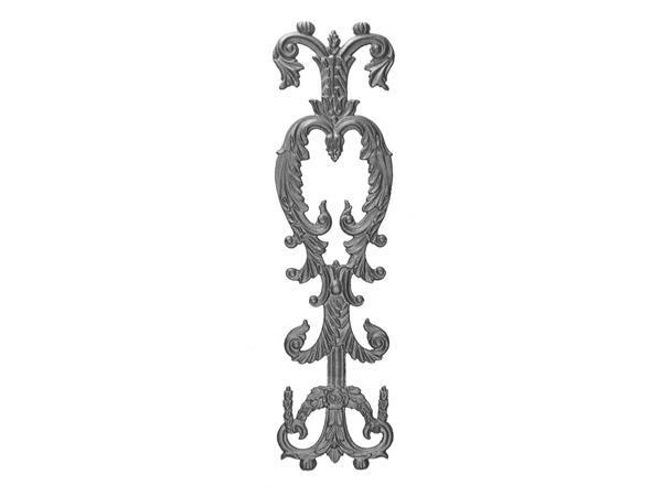 Cast iron 28.5 x railing casting
