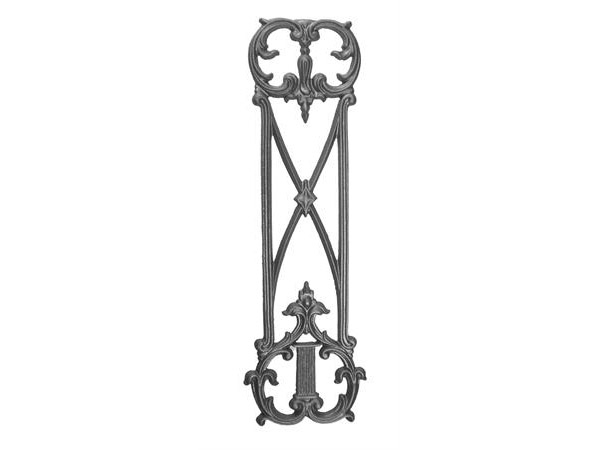 Cast iron 28.75x8.75, railing casting
