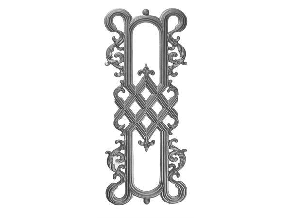 Cast iron 29.5 x 11.5 railing casting