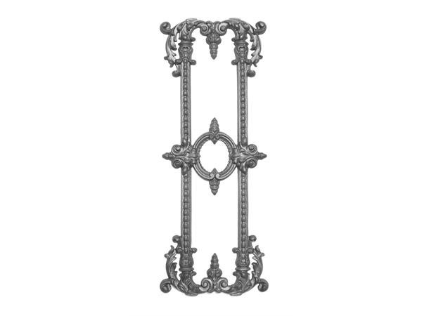 Cast iron 29.5 x 11.5 single-faced casting