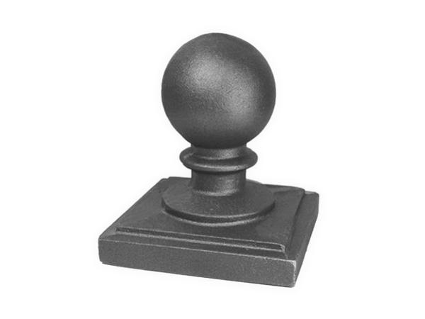 Cast iron 6-inch ball cap