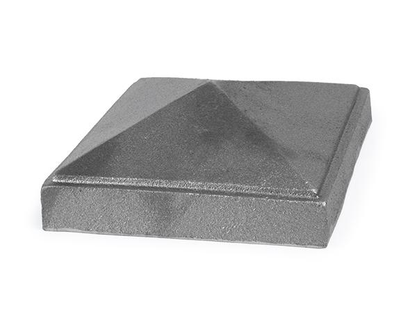 Cast iron 6-inch newel post cap