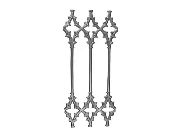 Cast iron cathedral panel