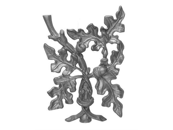 Cast iron curly oak starter panel