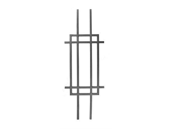 Cast iron modern rail panel