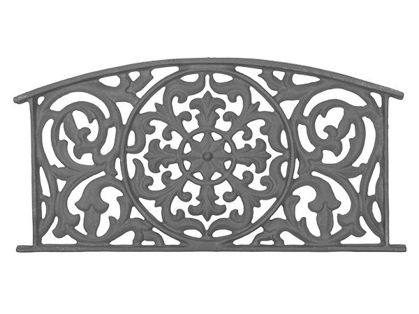 Cast iron panel grill casting 12.25 x 24.5
