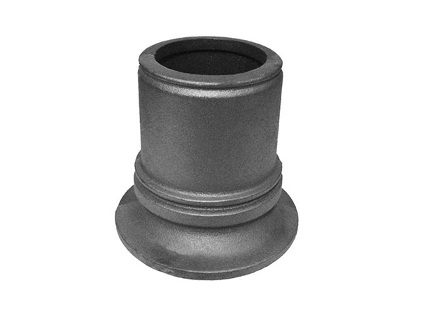 Cast iron pipe base, 4 inch