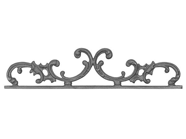 Cast iron pontalba gate top 5 x 21.5-inch