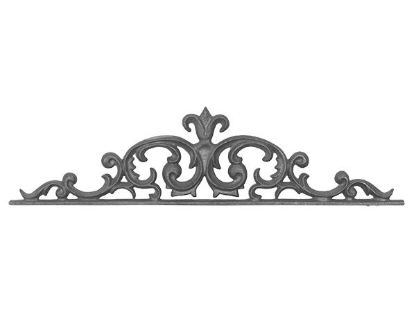 Cast iron pontalba gate