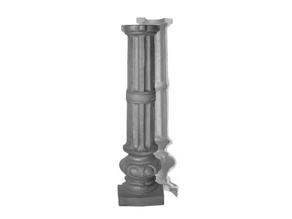 Cast iron post, 26.25
