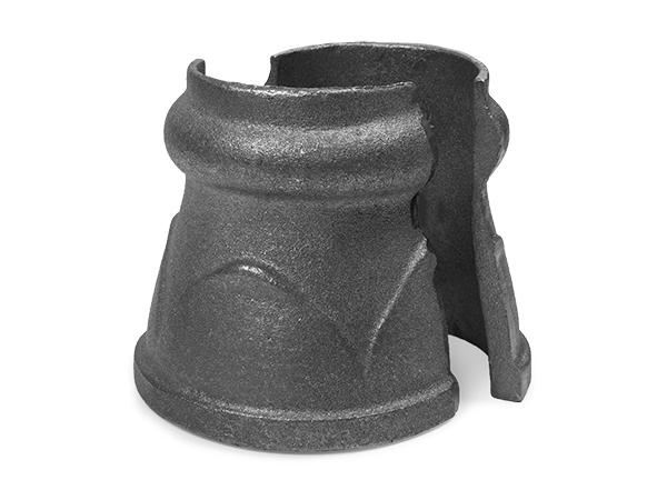 Cast iron post top