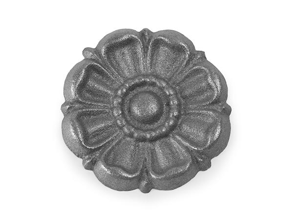 Cast iron rosette casting