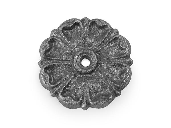 Cast iron rosette