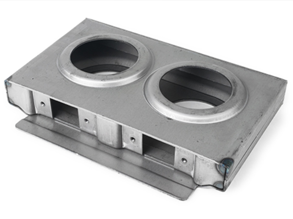 Double hole lockbox, 1 inch