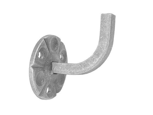 Forged handrail bracket
