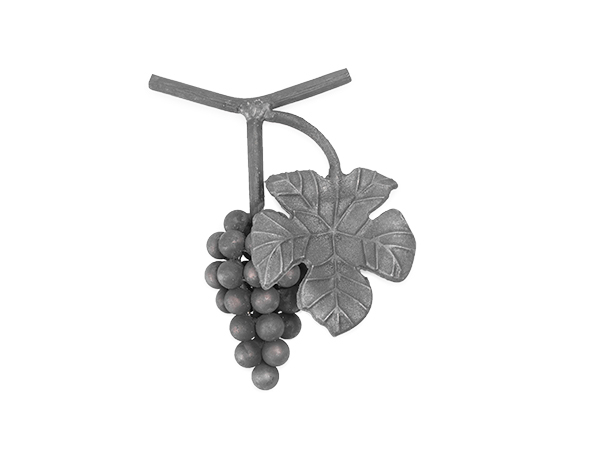 Forged steel grape cluster