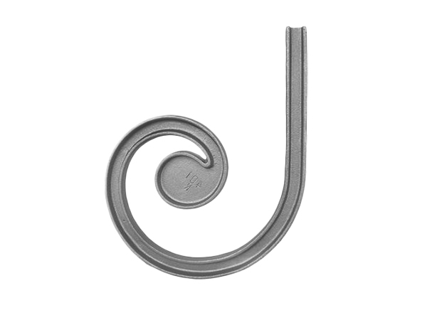 Malleable iron channel