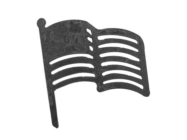 Plasma cut flag