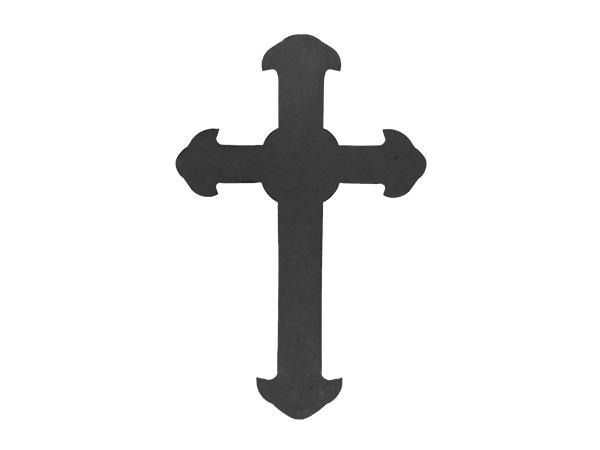 Plasma cut large cross