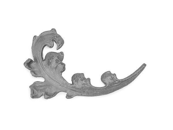 Steel drop forged leaf double-faced