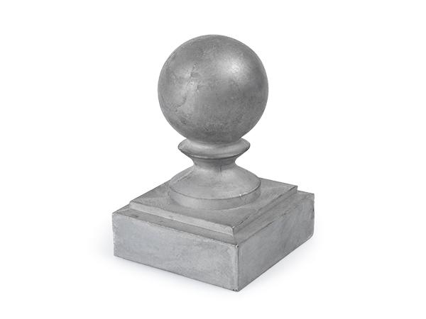 Aluminum 2.5-inch ball cap