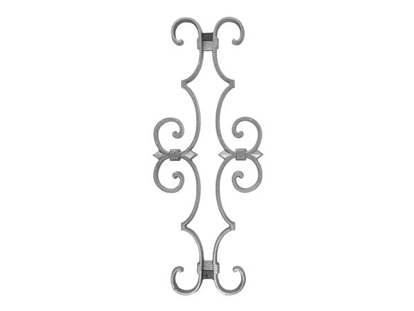 Aluminum picket casting 16 inch