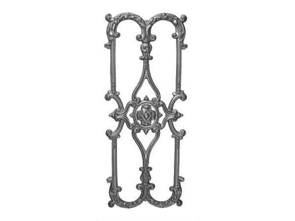 Cast iron 29 x 11.75-inch railing casting