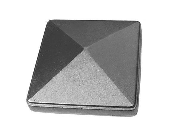 Cast iron, 8.75 newel post cap