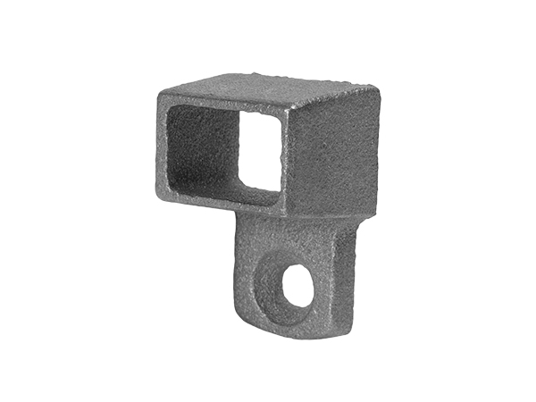 Cast iron channel shoe