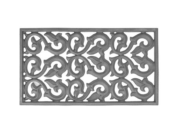 Cast iron decorative vent