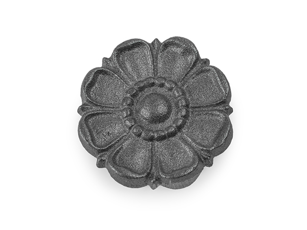 Cast-iron double-faced casting