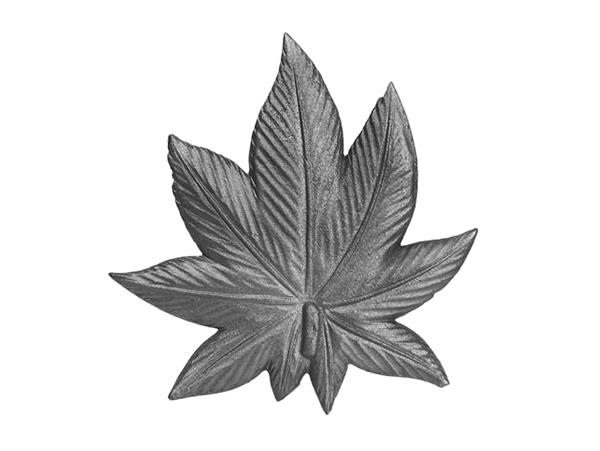 Cast iron double-sided nine-point leaf