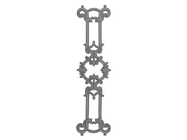 Cast iron olde victorian panel