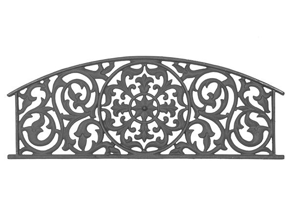 Cast iron panel grill casting