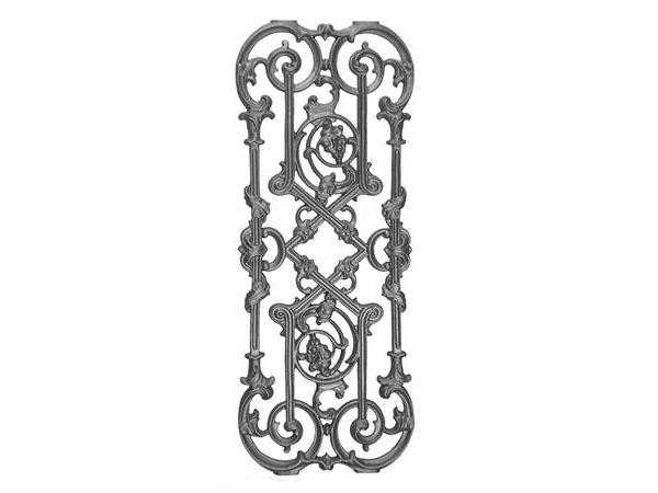 Cast iron traditional panel