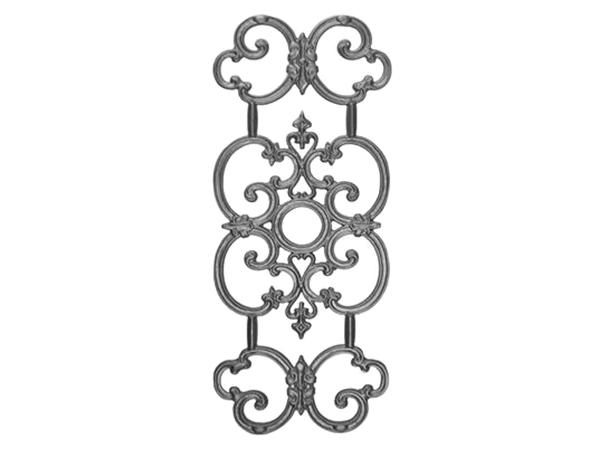 Cast iron victorian railing casting