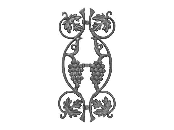 Cast iron vineyard picket casting