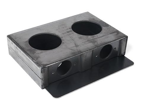 Double hole lockbox, 1.63-inch